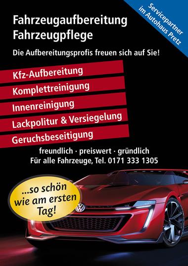 Fahrzeugaufbereitung und Fahrzeugpflege in Lahnstein